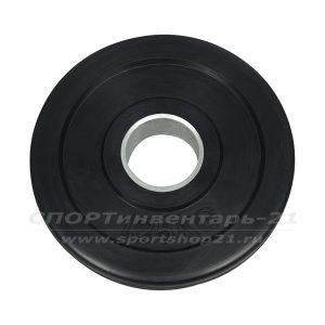 Диск обрезиненный (стальная втулка) d-51мм 1,25кг