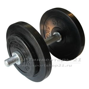 gantel obrezinennaya razbornaya 14,5 kg (ekonom)