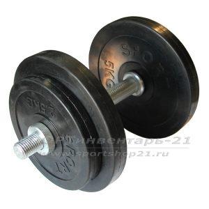 gantel obrezinennaya razbornaya 17 kg (ekonom)