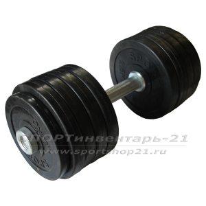 gantel obrezinennaya razbornaya 24,5 kg (funktsional)