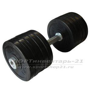 gantel obrezinennaya razbornaya 27 kg (funktsional)