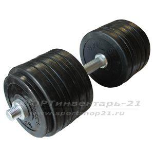 gantel obrezinennaya razbornaya 29,5 kg (funktsional)