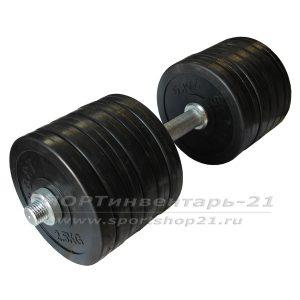 gantel obrezinennaya razbornaya 32 kg (funktsional)