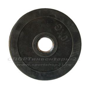 Диск обрезиненный (стальная втулка) d-51мм 10кг