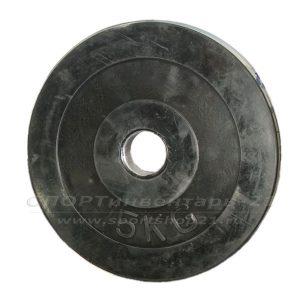 Диск обрезиненный (стальная втулка) d-51мм 15кг