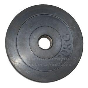 Диск обрезиненный (стальная втулка) d-51мм 20кг