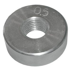 Диск оцинкованный резьбовой 0,5 кг