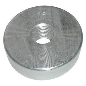 Диск оцинкованный резьбовой 1,5 кг