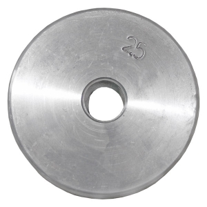 Диск оцинкованный резьбовой 2,5 кг
