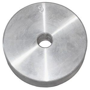 Диск оцинкованный резьбовой 5 кг