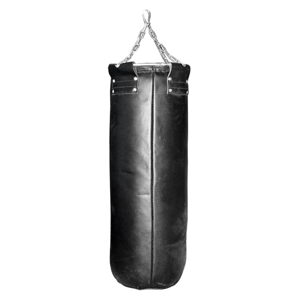Мешок боксерский кожаный фото