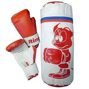 Боксерский набор детский (мешок 1 кг + перчатки)