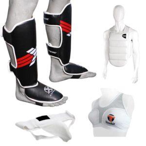Защита рук, ног и корпуса