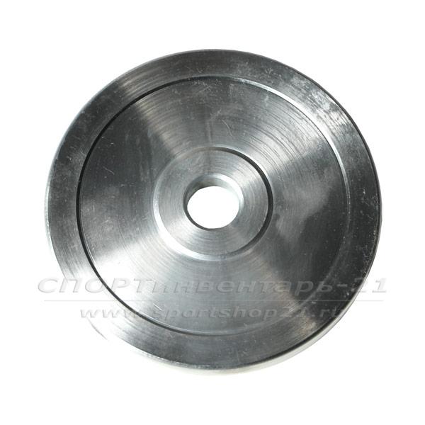Диск стальной d-26мм хромированный 10кг
