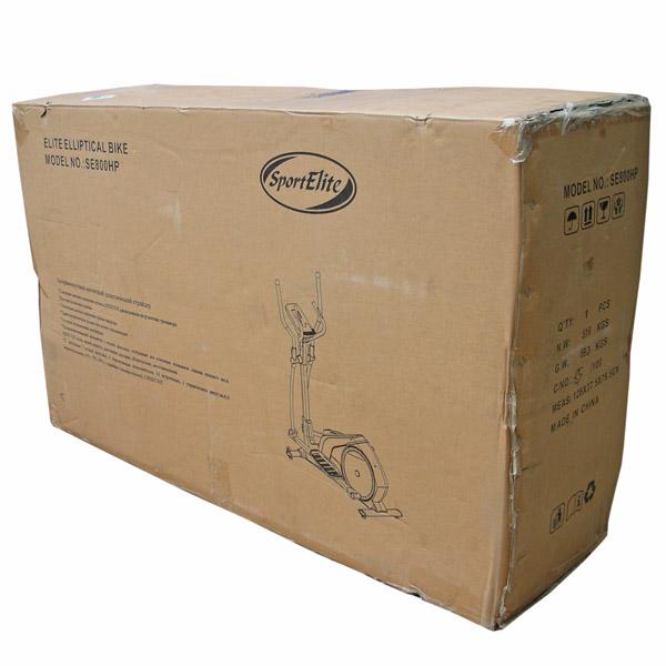 Эллиптический тренажер SE-800HP упаковка