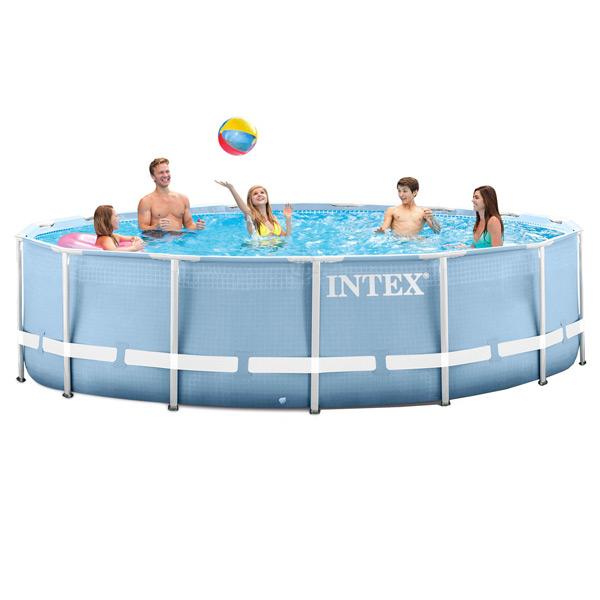 Каркасный бассейн на опорах intex 28736