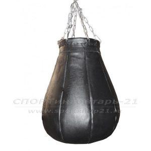 Груша боксерская профессиональная (натуральная кожа) - 40кг-1