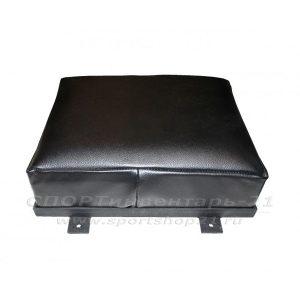 Подушка кожаная настенная (50х40х18) ПРОФИ-2