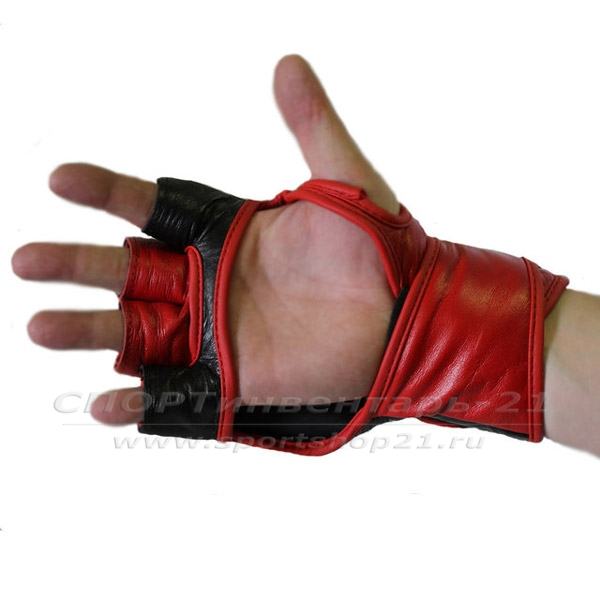 Перчатки ММА (натуральна кожа) фото 2