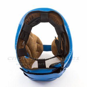 Шлем боевой для бокса (натуральная кожа)-2-фото