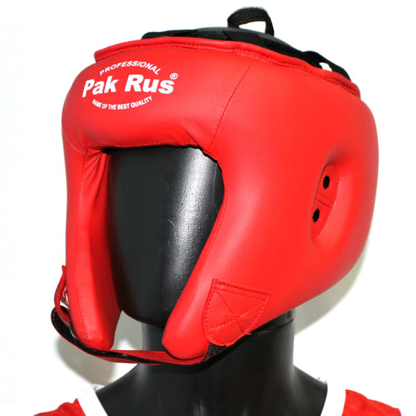 Шлем боевой для бокса (искусственная кожа) shlem-pr-13-003 фото 2