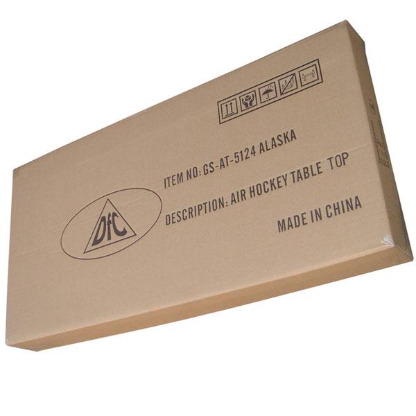 Игровой стол аэрохоккей DFC Alaska GS-AT-5124 упаковка