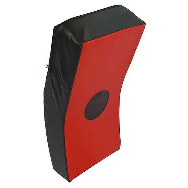 Макивара изогнутая (красно-черная) 45х23х10см