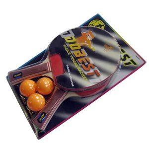 Набор для настольного тенниса DOBEST BR06 (2 ракетки + 3 мяча)