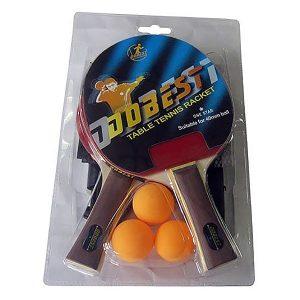 Набор для настольного тенниса DOBEST BR18 (2 ракетки + 3 мяча + сетка и крепеж)