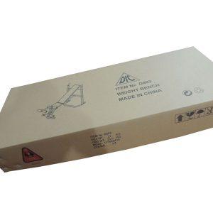 Силовая скамья со стойками DFC D003 упаковка