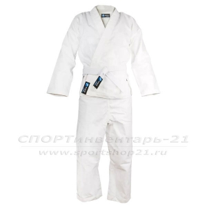 Кимоно карате белое, рост 110-164 см