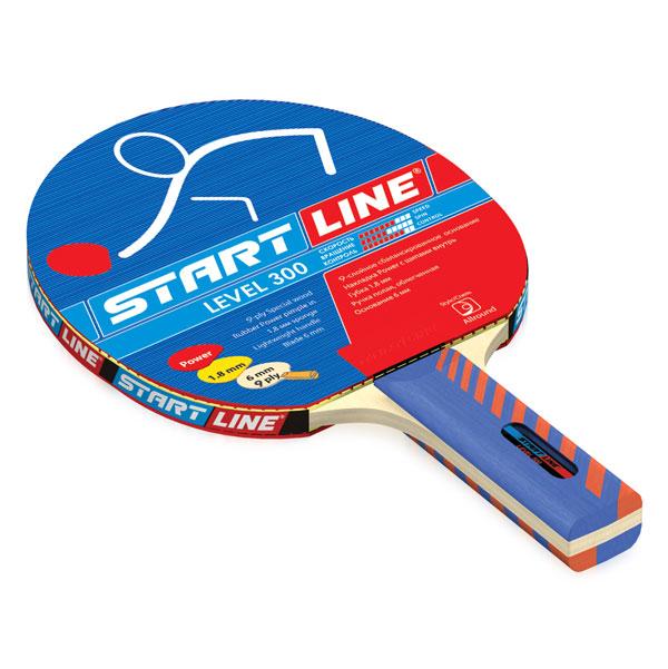 Level 300 (прямая) - ракетка для освоения различных стилей 60-412