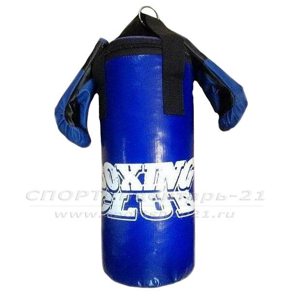 Набор боксерский Юниор (мешок 45см, перчатки тренировочные) фото