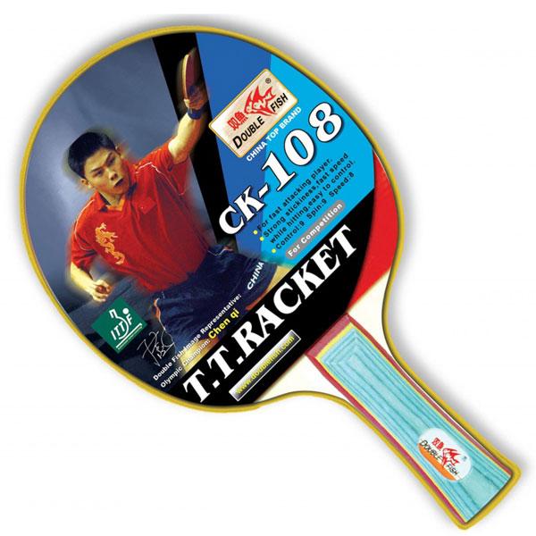 Ракетка для настольного тенниса DOUBLE FISH - СК-108 фото