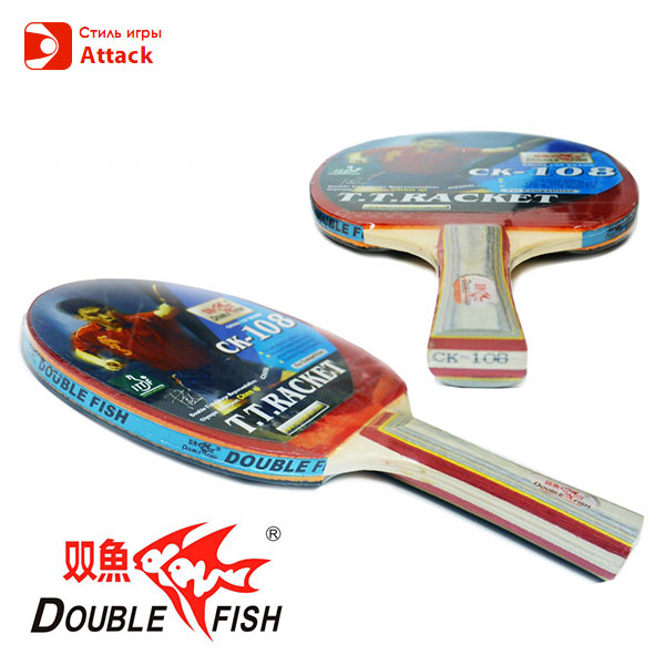 Фото ракеток для настольного тенниса DOUBLE FISH - СК-108