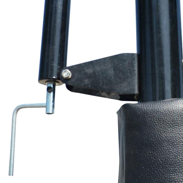 Рукоятка регулировки высоты щита баскетбольной стойки DFC фото