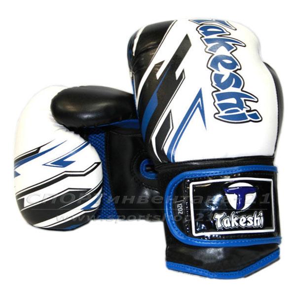 Перчатки боксерские тренировочные Takeshi TF-11-36