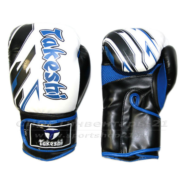 Перчатки боксерские тренировочные Takeshi TF-11-36 фото