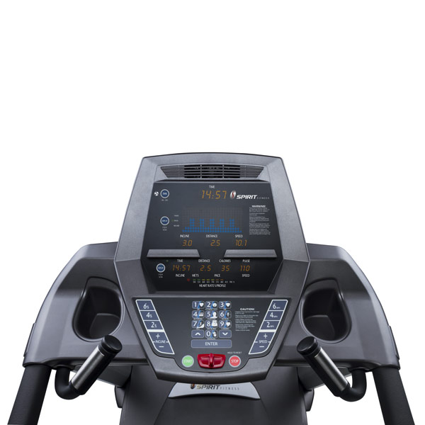 Фото консоли управления беговой дорожки CT800