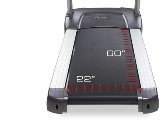 spirit-fitness-ct800 беговое полотно