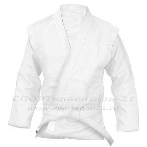 Куртка Самбо С2 белая, рост 110-164 см
