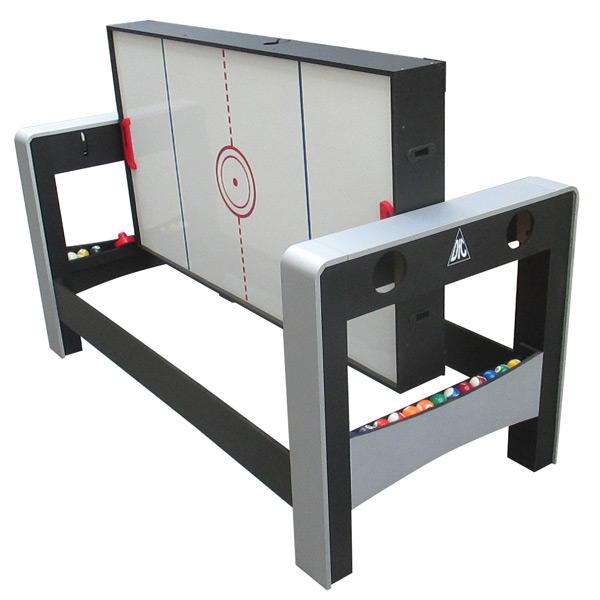 Игровой стол DFC FERIA трансформер 2 в 1 аэрохоккей фото