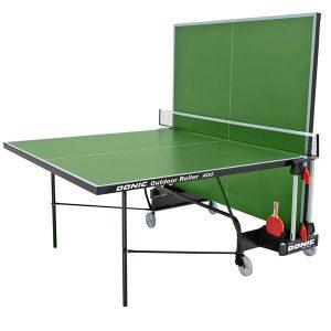 Теннисный стол Outdoor Roller 400 вариант одиночной игры фото