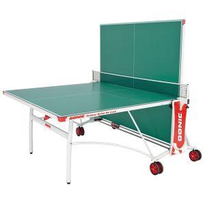 Теннисный стол Donic Outdoor Roller De Luxe вариант одиночной игры фото
