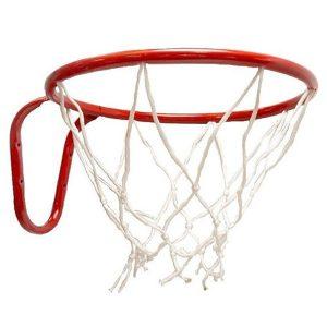 Кольцо баскетбольное №3 с сеткой фото