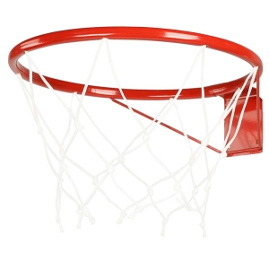 Кольцо баскетбольное №7 с сеткой (усиленное)