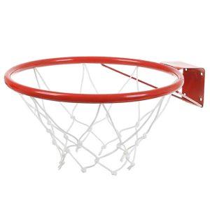 Кольцо баскетбольное №7 с сеткой фото