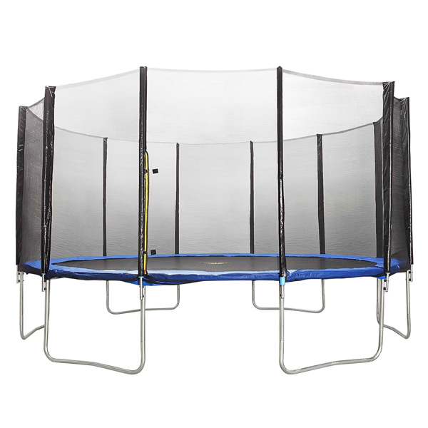 Батут с защитной сеткой Trampoline Fitness фото
