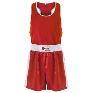 Форма боксерская BS-101 детская (шорты+майка) красная