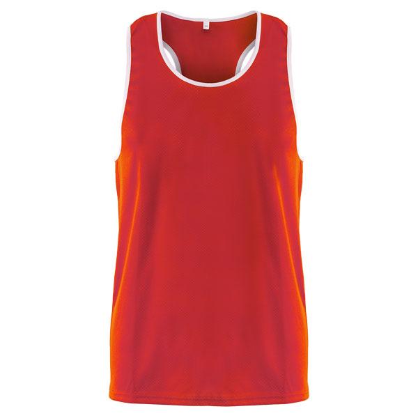 Форма боксерская BS-101 детская (майка) красная